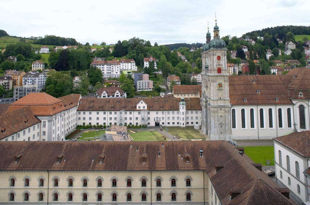 Die Kathedrale und die Stiftsgebäude sind mit über 870 Brandmeldern ausgestattet. (© Keystone)
