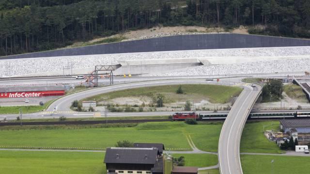 Hier soll es eine Fischzucht geben: Gotthard-Nordportal (Archiv)