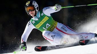Kathrin Zettel: Führende beim Slalom in Aspen nach Durchgang 1.