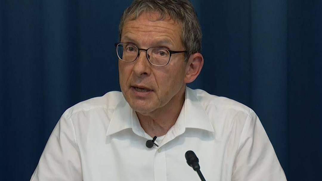 Verständnis, Dank und Bedauern: die Stellungnahme von Landammann Urs Hofmann zum Rücktritt von Regierungsrätin Franziska Roth