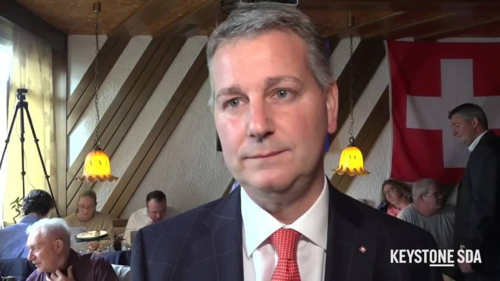 Marco Chiesa äussert sich zum Nein zur Begrenzungsinitiative