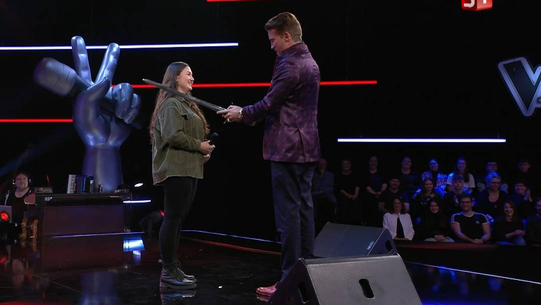 The Voice of Switzerland: Alexandras erster Bühnenauftritt bescherte ihr unter anderem bereits einen Ritterschlag