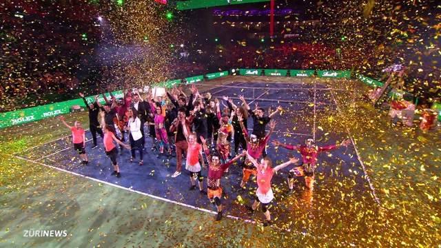 Weltklasse-Tennis im Zürcher Hallenstadion