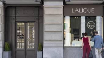 Das Luxusgüterunternehmen Lalique - hier die Filiale in Zürich - geht am 25. Juni an die Schweizer Börse SIX. (Archivbild)