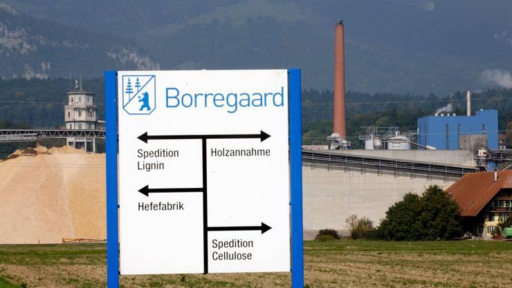 Das Industrieareal der Firma Borregaard ist mit 53 Hektaren sehr gross.