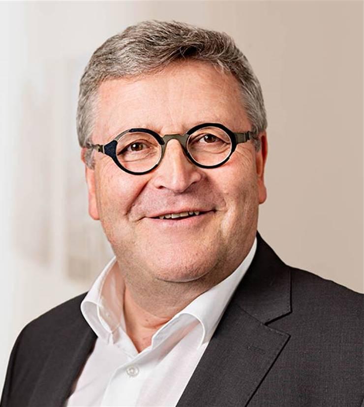 Ernst Hofmann, Präsident der Baukommission