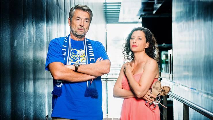 Seit 2010 gemeinsam unterwegs: Das Luzerner «Tatort»-Ermittlerduo Reto Flückiger (Stefan Gubser) und Liz Ritschard (Delia Meyer).