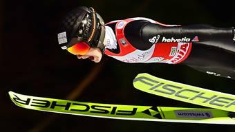 Hielt sich als zweiter Schweizer beim Teamspringen in Klingenthal achtbar: Dominik Peter