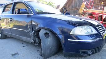 Irrfahrt mit Unfällen in Zetzwil