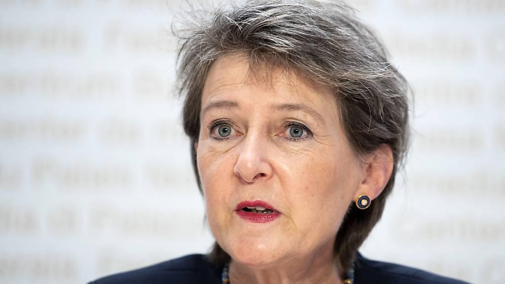 Bis Ende des Jahres will Umweltministerin Simonetta Sommaruga das neue CO2-Gesetz vorlegen. (Archivbild).