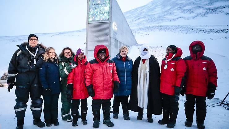 Im arktischen Eis sind 60'000 weitere Samen in einer Samenbank eingelagert worden.