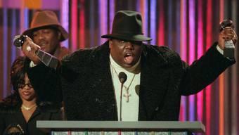 Streitbares Vermächtnis: Musiker Notorious B.I.G. (Archiv)