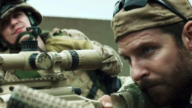 "Szene aus dem Film ""American Sniper"""