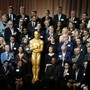 """""""Klassenfoto"""" der Oscar-Nominierten, aufgenommen im The Beverly Hilton Hotel am Montag, 5. Februar. Hinterste Reihe rechts: Meryl Streep."""