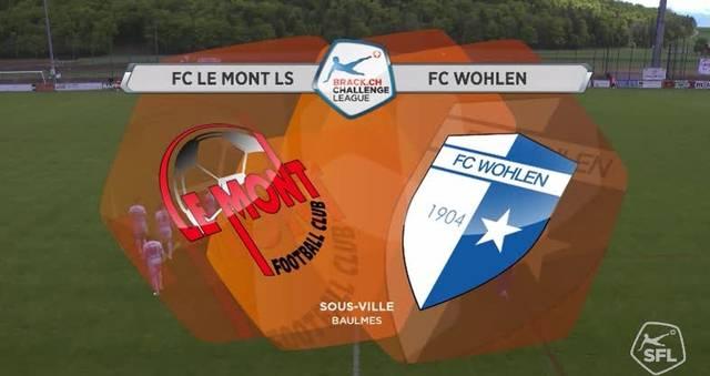 FC Le Mont - FC Wohlen, 32. Runde, Challenge League, 14.5.17