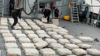 Konfisziertes Kokain (Symbolbild)