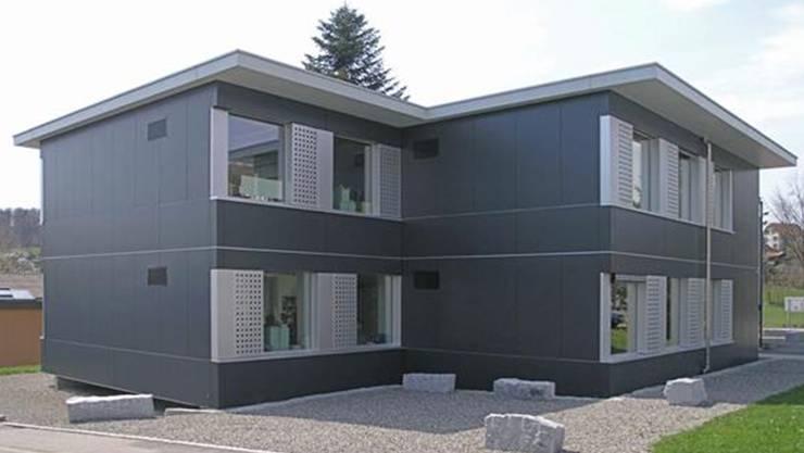 Dieser Schulpavillon, heute noch in Beinwil am See in Betrieb, wird nächsten Sommer nach Reinach gezügelt.