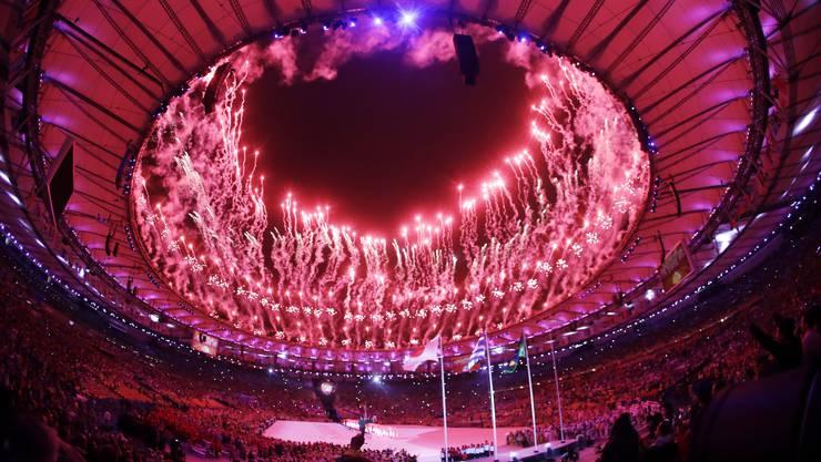 Impressionen von der Abschlussfeier der Olympischen Spiele von Rio de Janeiro