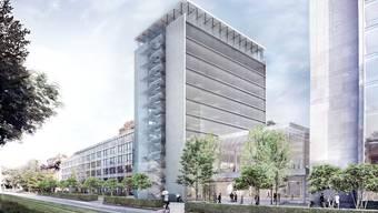 Herzog & de Meuron entwerfen neuen Helvetia Campus Basel