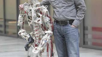 Rolf Pfeifer: «Intelligenten Robotern gehört die Zukunft.» (Bild: SIM)