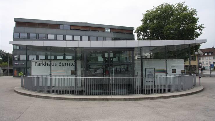 Das Parkhaus Berntor steuerte wieder über eine Million Franken Ertrag zum Gesamtergebnis bei.