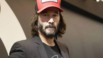 Schauspieler, Musiker und Töff-Freak: Hollywoodstar Keanu Reeves besucht am Donnerstag die Swiss-Moto in Zürich. (Archivbild)