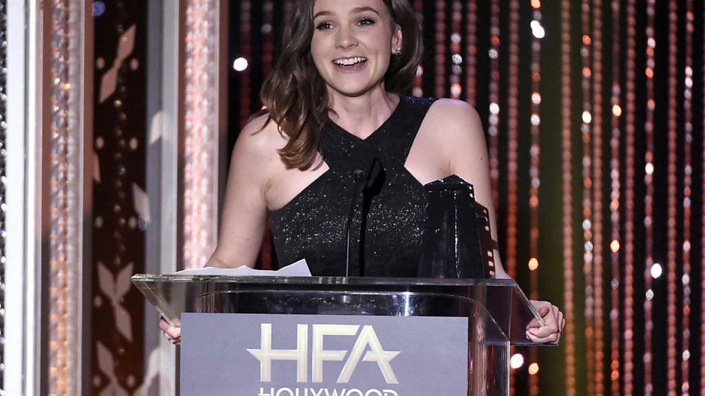 Ein Sieg zum Auftakt: Carey Mulligan eröffnet mit der Auszeichnung als beste Schauspielerin an den Hollywood Film Awards den US-Filmpreisreigen.