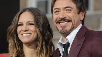 Die glücklichen Eltern Susan und Robert Downey Jr. (Archiv)