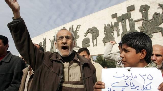 Alt und Jung demonstrieren im Irak gemeinsam gegen die Korruption
