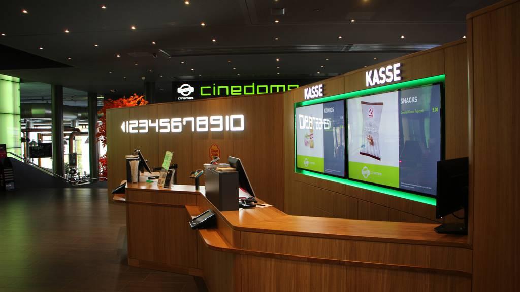 So sieht das neue 4DX-Kino im Cinedome aus