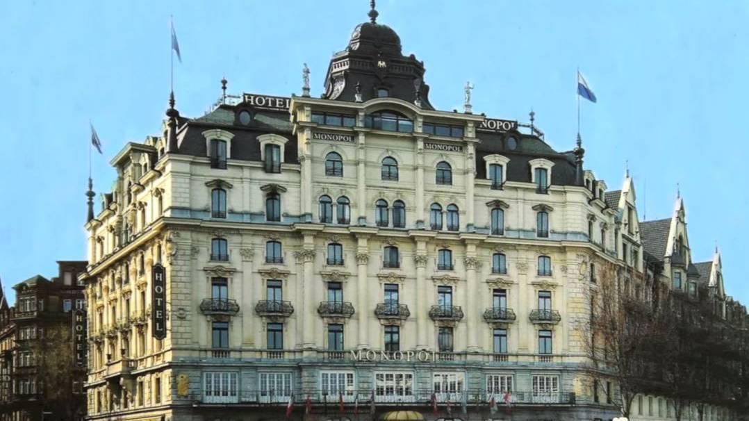 Das altehrwürdige Hotel Monopol in Luzern begeistert seine Gäste - und die Hörer des Werbevideos.
