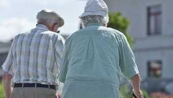 Die heutigen Pensionierten beziehen ihre Renten aus AHV und Pensionskasse teilweise auf Pump. (Symbolbild)