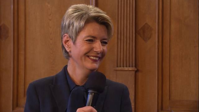 Karin Keller-Sutter: «Mein Mann würde nicht sagen, ich sei perfekt»