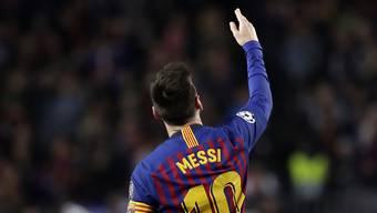 """""""Wir haben einen grossen Vorteil, aber es ist noch nicht definitiv"""", sagte Lionel Messi nach dem Hinspiel gegen Liverpool"""