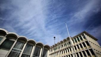 Der Sitz des deutschen Bundeskriminalamtes in Wiesbaden (Archiv)