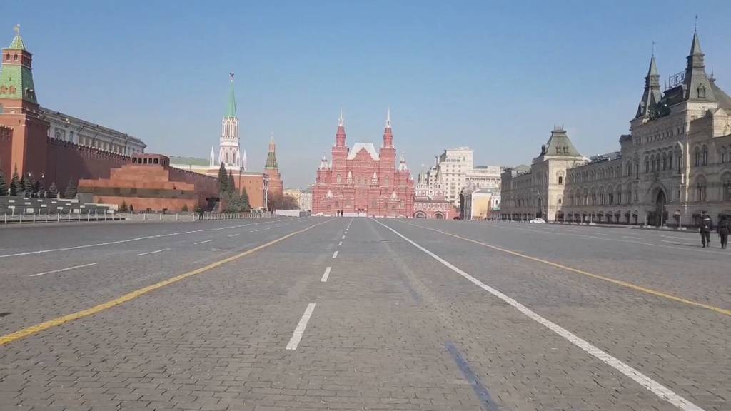 Moskau: Coronavirus breitet sich rasant aus