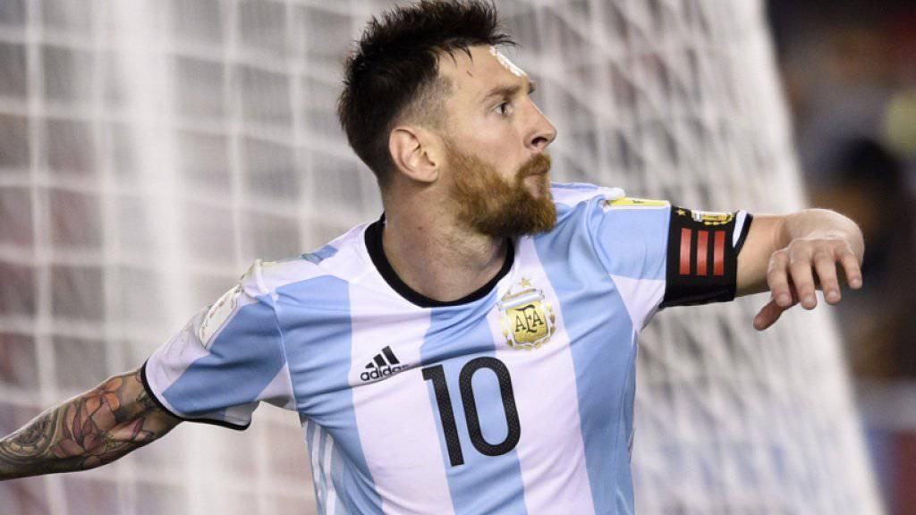 Captain Lionel Messi führt Argentinien gegen Chile zum Sieg