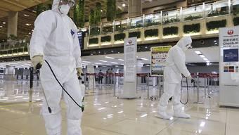 Aus Sorge vor Ansteckungen mit dem Coronavirus schottet sich Südkorea vom Ausland weiter ab. (Archivbild)