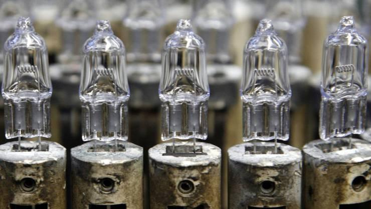 Der Verkauf von Halogenlampen ist ab dem 1. September 2018 verboten.