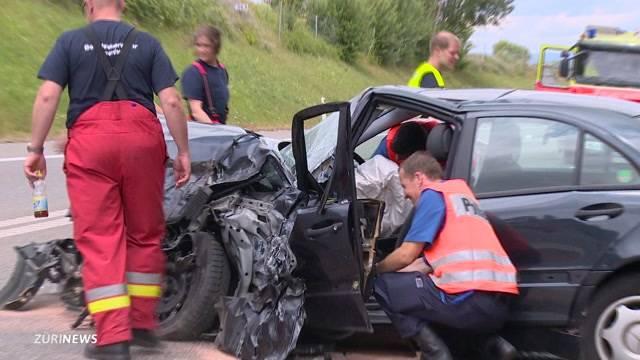 Unfall auf A4 fordert einen Toten