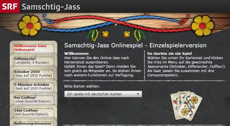 Das Schweizer Fernsehen schliesst aus finanziellen Gründen das beliebte Spiel «Samschtig-Jass».