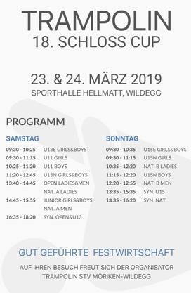 Programm Schloss Cup 2019