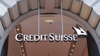 Ein weiterer Verlust: Buchhalterische Effekte vermiesen der Credit Suisse die Jahresrechnung 2017. (Archiv)