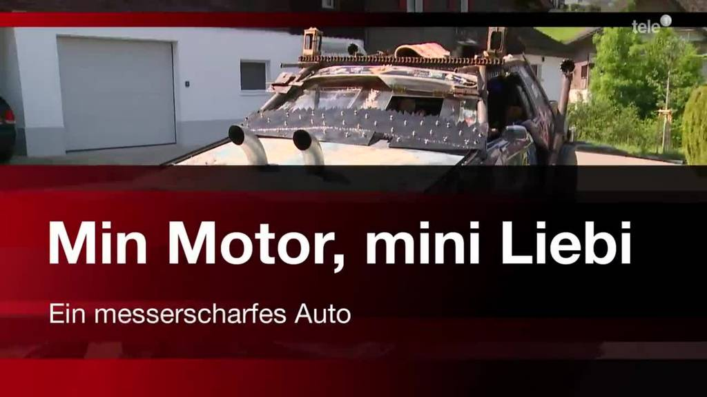 Min Motor, mini Liebi - Ein messerscharfes Auto