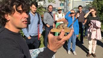 «Eine guteökologische Infrastruktur im Dorf nützt auch den Amphibien»: Thomas Baumann vom Naturama Aargau als Leiter am Gemeindeseminar in Villmergen.