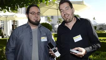Oliver Studer und Raphael Oberholzer Neeo AG