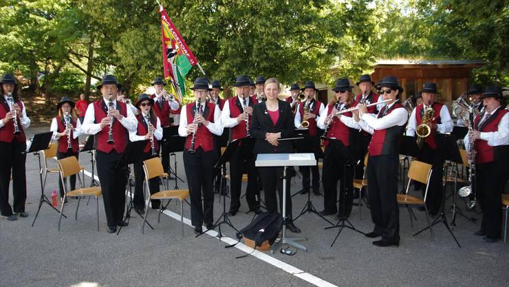 Die MG Lostorf sorgte für die musikalische Umrahmung der 1. August-Feier in Lostorf
