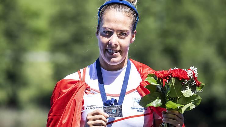 Jeannine Gmelin zählt einmal mehr zu den Schweizer Medaillen-Anwärtern