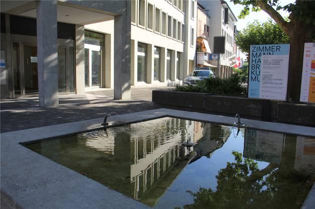 Hier entsteht das Café Stadtklatsch. (Archiv)