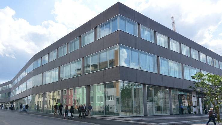 Der Campus der Fachhochschule Nordwestschweiz (FHNW) in Olten. Das Gebäude wurde letztes Jahr eingeweiht. (Archiv)